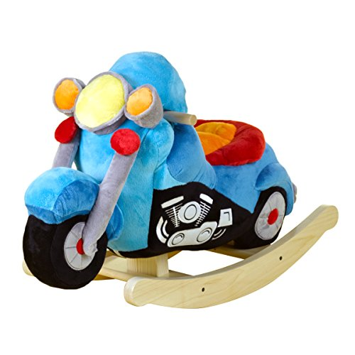 Motorcycle rocking horse 5 kinds of awesome cool kiddy for Scooter rocking horse