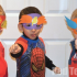 Superhero masks for kids