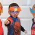 Superhero masks for kids