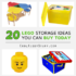 20 lego storage ideas you can buy today