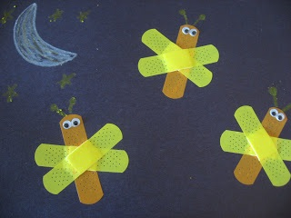 band-aid-lightning-bugs-craft