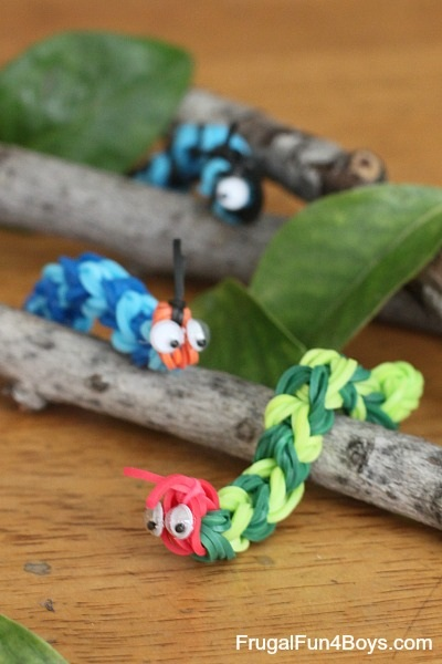 rainbow-loom-caterpillar-craft