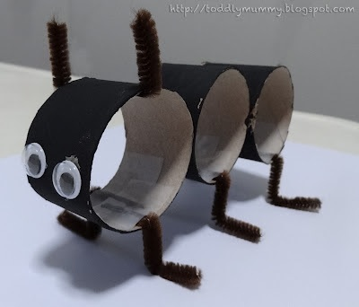 toilet-paper-rolls-ant-craft