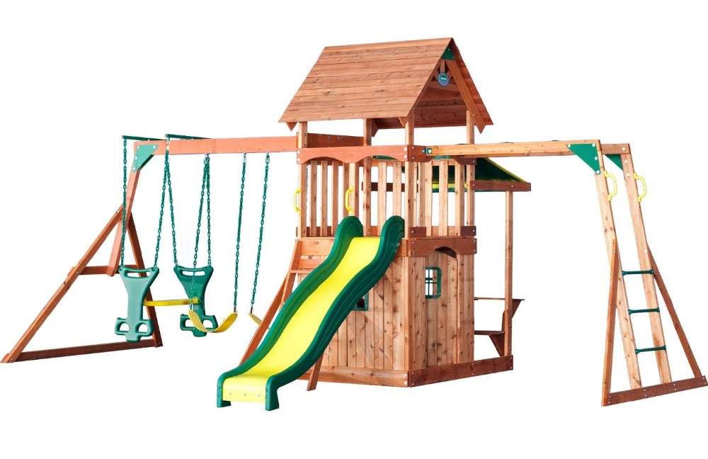 Best Backyard Swing Sets For Any Budget Cool Kiddy Stuff