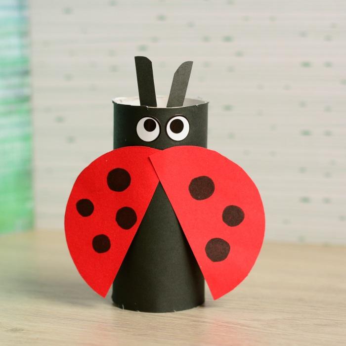 toilet-paper-tube-ladybug-craft