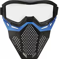 nerf blue facemask