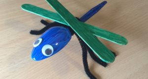 dragonfly spoon craft