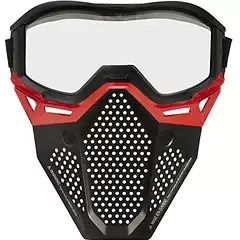 nerf red facemask